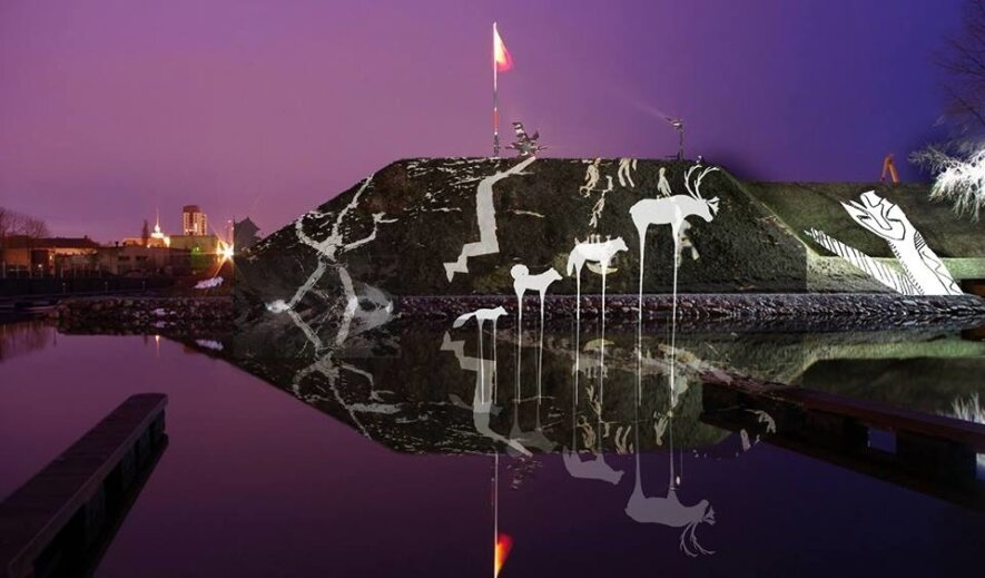 """Vaizdo projekcijų """"Anersaaq – šiaurės dvasia"""" pristatymas"""