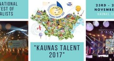 """Konkurso """"Kaunas Talent 2017"""" koncertas"""