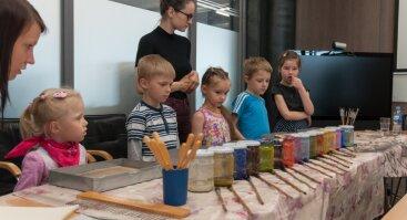 Ebru užsiėmimas vaikams