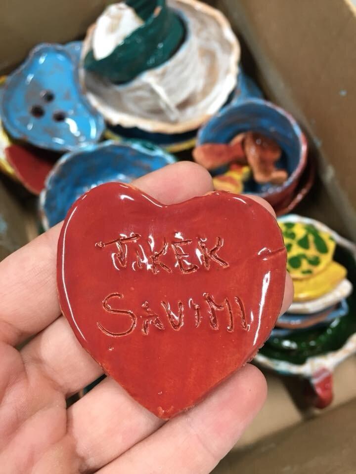 Šeštadieninė keramika vaikams