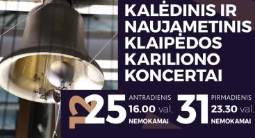 Naujametinis Klaipėdos kariliono koncertas