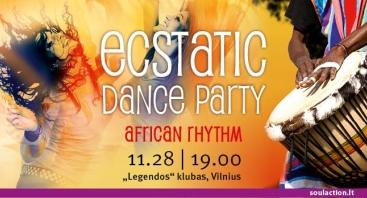 Ecstatic Dance Party African Rhythm