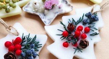Kalėdinių dovanų kūrimo rytmetis - kvapnūs žaisliukai