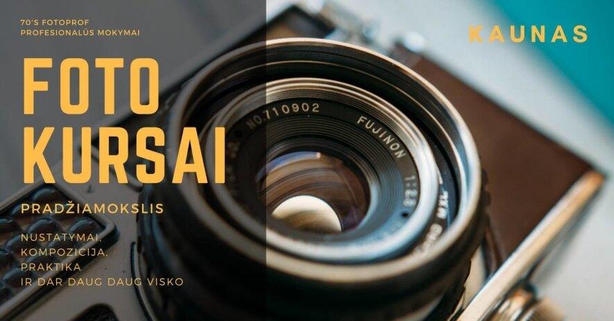 INTENSYVŪS PRAKTINIAI MOTYVACINIAI FOTOGRAFIJOS KURSAI!