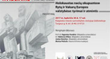 Holokaustas nacių okupuotose Rytų ir Vakarų Europos valstybėse: tyrimai ir atmintis