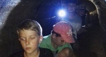 Šikšnosparnių žygis (8-10 metų vaikams)