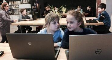 """Technologijų šventė vaikams """"Šimtmečio programavimo valanda"""""""