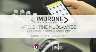 IMDrone: Intelektinė nuosavybė – patentai ir verslo apsauga
