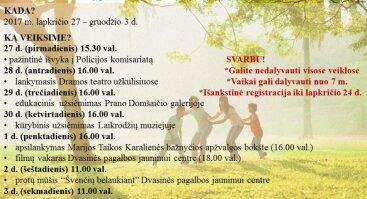 Edukacinė-pažintinė renginių savaitė DPJC