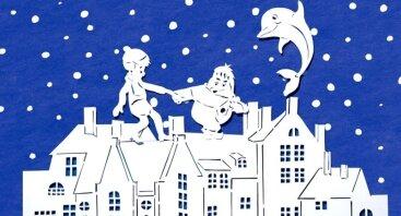 """Kalėdinis pasirodymas """"Delfinai ir Karlsonas, kuris gyvena ant stogo"""""""