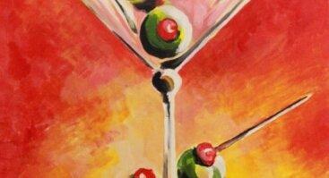 """Tapybos vakaras """"Martini taurė"""""""