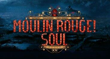 """Naujųjų metų sutikimas """"Moulin Rouge"""""""
