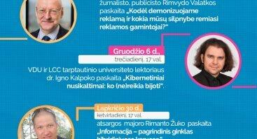 Paskaitų apie medijų ir informacinį raštingumą ciklas