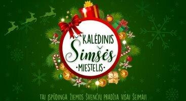 Kalėdinis Šimšės miestelis su Deividu Basčiu ir Kalėdine Lauros studija