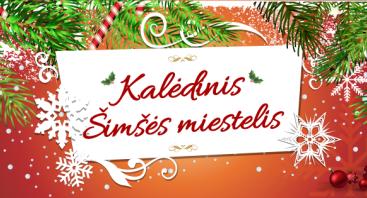 """Kalėdinis Šimšės miestelis su atlikėja LAURA ir grupe """"TAUTINIS BRANDAS"""""""