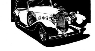 Valdo Žemaičio automobilių piešinių paroda