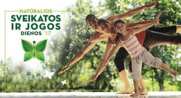 Natūtalios sveikatos ir jogos dienos 2017