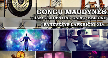 Transcendentinė Garso Kelionė - Gongų Maudynės Panevėžyje
