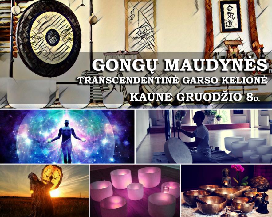Transcendentinė Garso Kelionė - Gongų Maudynės Kaune
