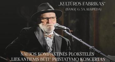 VLADAS BAGDONAS. CD pristatymo koncertas.
