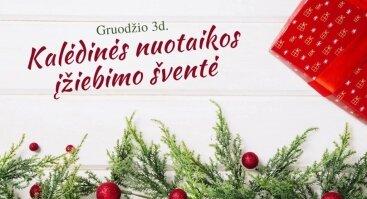 Kalėdinės nuotaikos įžiebimo šventė
