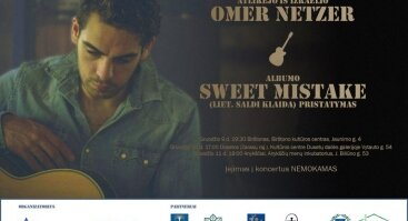 "Izraelio atlikėjo Omer Netzer albumo ""Sweet Mistake"" pristatymas"