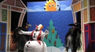 """Lėlių spektaklis """"Sniego Senio sapnas"""""""