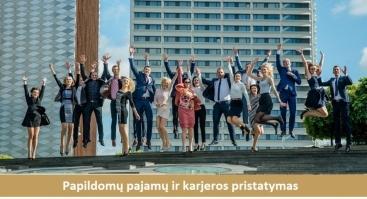 Papildomų pajamų ir karjeros pristatymas Kaune