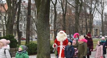 Susitikimas su Kalėdų seneliu