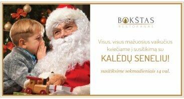 Susitikimas su Kalėdų seneliu restorane BOKŠTAS