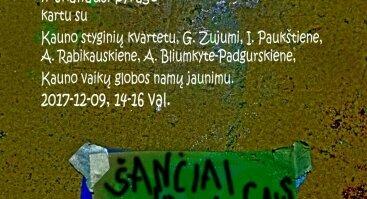 """Kauno kvartetas renginyje """"Šančiai jauno žmogaus akimis"""""""