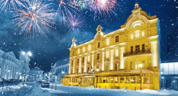 """Šventinė Naujųjų metų vakarienė Vilniaus senamiesčio restorane """"Astorija Brasserie"""""""