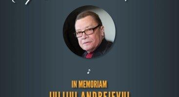 "Muzikos vakaras ""In Memoriam Julijui Andrejevui"""