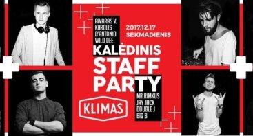 Kalėdinis Staff Party