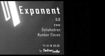 "Elektroninės muzikos festivalis ""Exponent"""