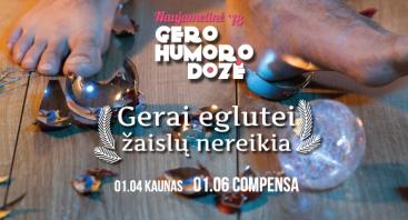 Teatras KITAS KAMPAS: Naujametinė GERO HUMORO DOZĖ