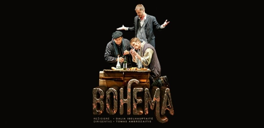 """Giacomo Puccini opera """"Bohema"""""""
