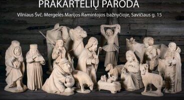 Prakartėlių paroda Ramintojos bažnyčioje