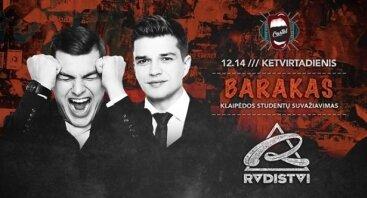 Barakas: Klaipėdos studentų suvažiavimas