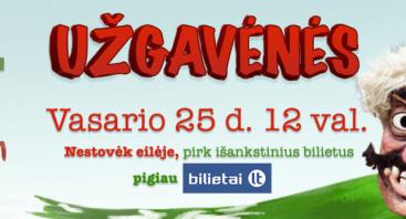 UŽGAVĖNĖS RUMŠIŠKĖSE 2017