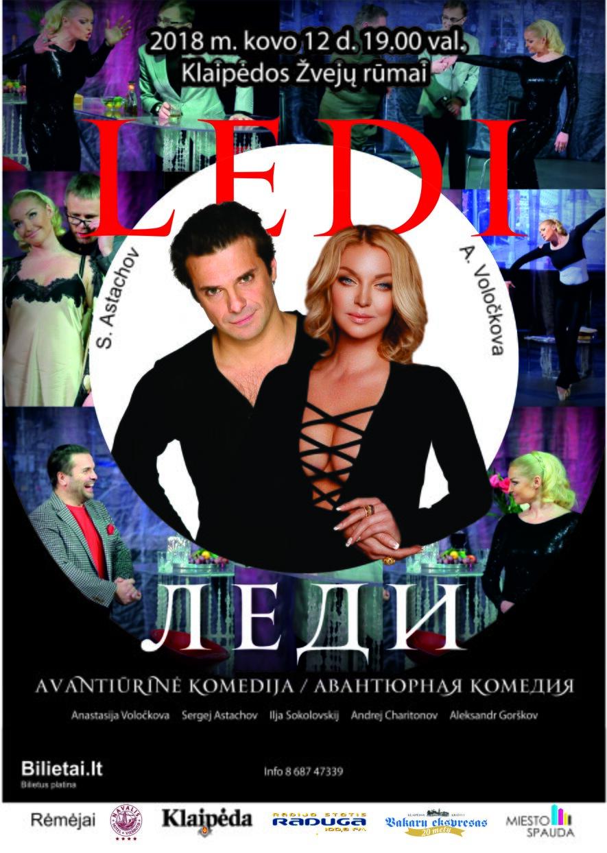 "Avantiūrinė komedija ""LEDI"" (rusų k.)"