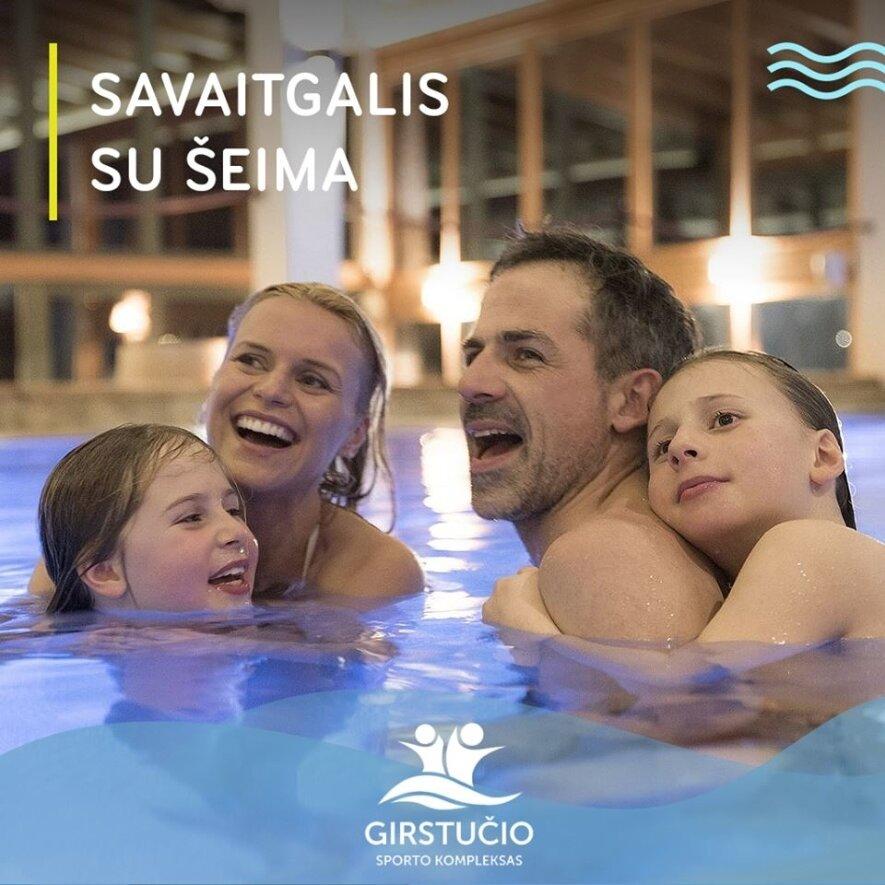 """Visą vasarą vaikiškas įėjimas į """"Girstučio"""" baseiną tik 2€ + LEDAI!"""