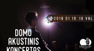 Domo akustinis koncertas