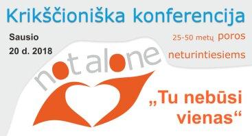 Konferencija poros neturintiesiems