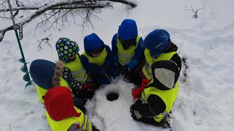 Ledo kelias ( 8-10 metų vaikams)