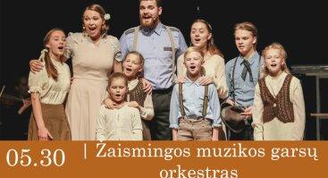 """Koncertas visai šeimai """"Žaismingos muzikos garsų orkestras"""""""