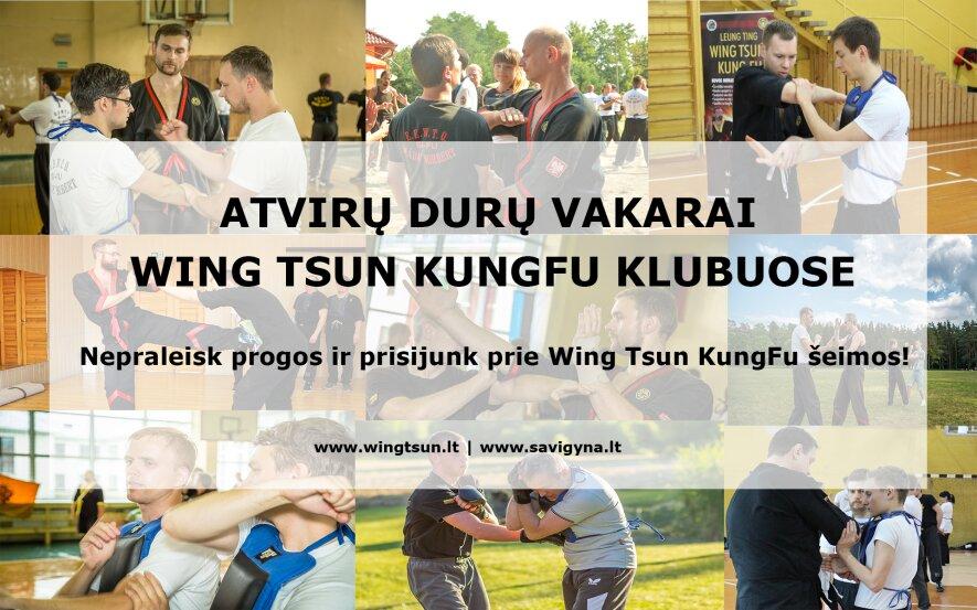 Atvirų durų vakaras Wing Tsun KungFu klube Klaipėdoje