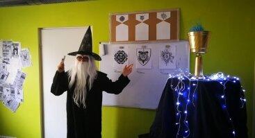 Hario Poterio stovykla vaikams su nakvyne