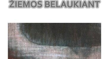 """Alinos Vitkauskienės paroda """"Žiemos belaukiant"""""""