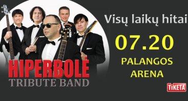 """Visų laikų hitai kartu su """"HIPERBOLĖ tribute band"""